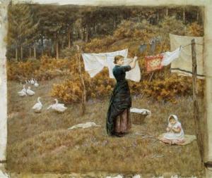 1899 ---  by Helen Allingham
