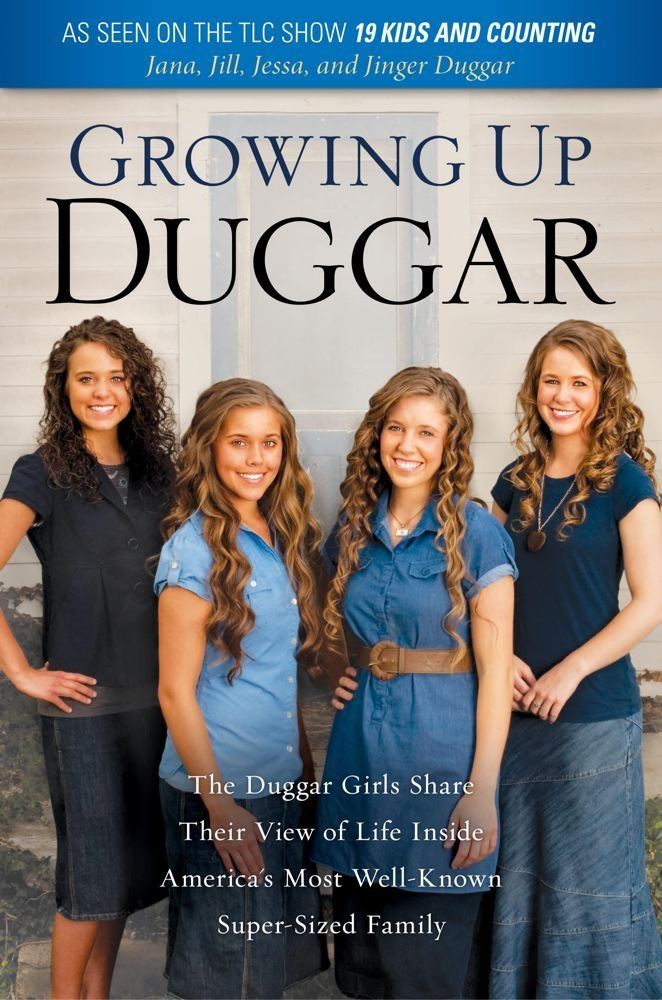 "The Duggar Girls new book, ""Growing Up Duggar"", coming March 4 ..."