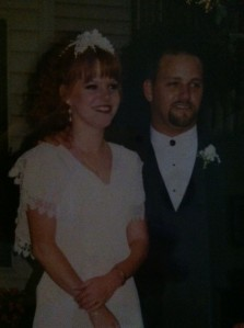 Newlyweds in 1996......We are SOOOOO young!