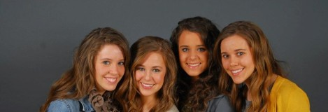 Jana, Jill, Jessa & Jinger.  The oldest Duggar Girls.