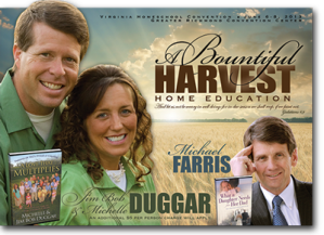 HEAV Homeschool Convention 2013.  The Duggars will be there!