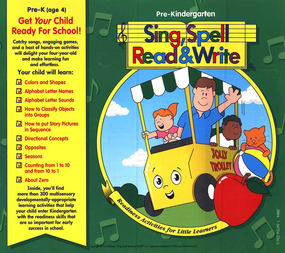 A to Z Phonics Song from Sing, Spell, Read & Write by Sue Dickson