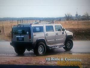 Josh and Anna Duggar's Hummer.......Anna's Dream Car