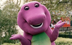 We still love the Big Guy, Mr. Barney, and my tots love to learn his songs of caring and sharing.