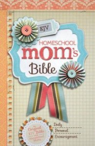 There is a King James Bible now with Homeschool Mom Devotions throughout!