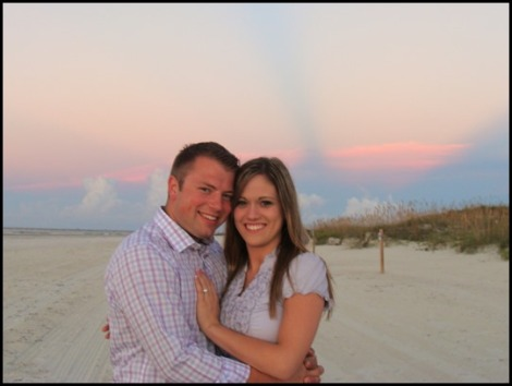 Zach Bates and Whitney Perkins are engaged!