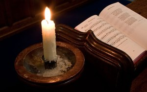 candle_and_hymnal