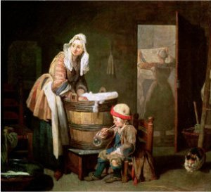 chardin-jean-baptiste-simeon-the-laundry-woman