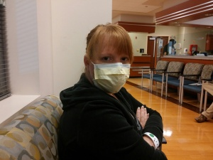 A trip to the doctor for what I thought was the flu, turned out to be bronchitis.